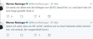 Wiener Zeitung, Info-DIREKT, Werner Reisinger