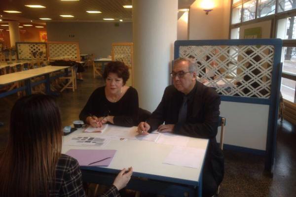 Les entretiens de Vinci pour entrainer les lycéens à l'entretien pro