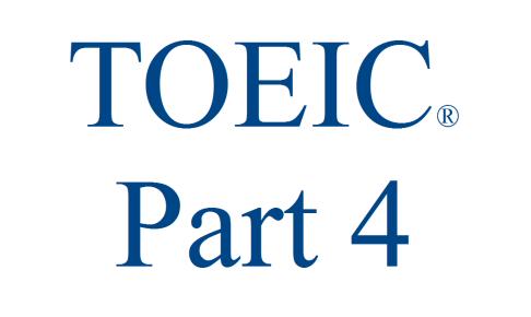 toeic part4