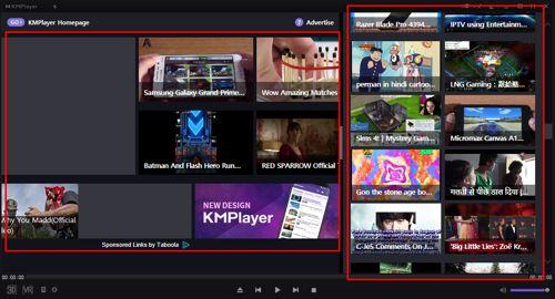 Nỗi ám ảnh quảng cáo Kmplayer