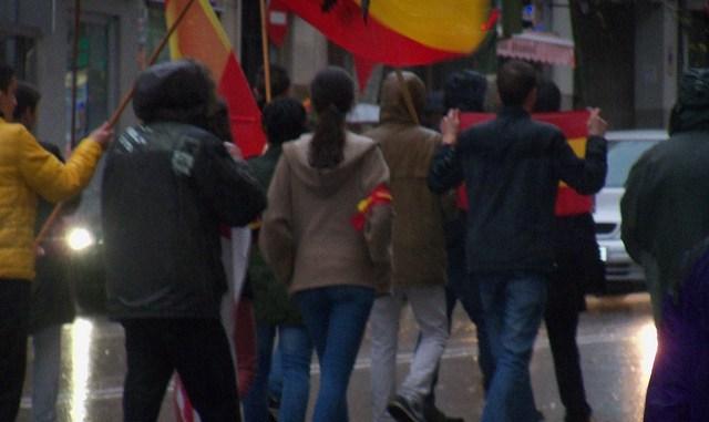 spanische Faschisten