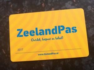 ZeelandPass Karte groß