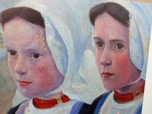 Gemälde Zeeuwse Portraits der Sonderausstellung im Museum Domburg