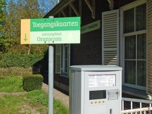 Kassenautomat am Naturschutzgebiet Oranjezon bei Oostkapelle