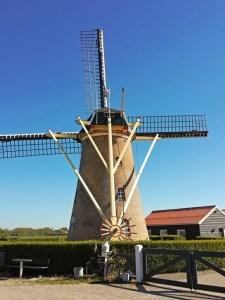 Windmühle in Meliskerke