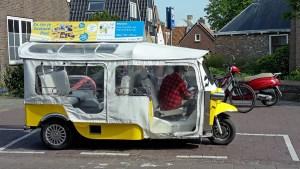 E-Tuk in Domburg