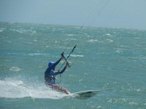 Kitesurfer vor Vrouwenpolder