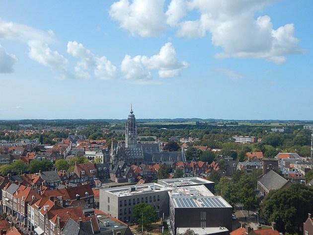 Rathaus Middelburg von Langer Jan -Totale