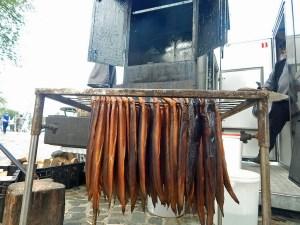 Delikatessen aus Zeeland: Zeeaal auf dem historischen Markt in Veere