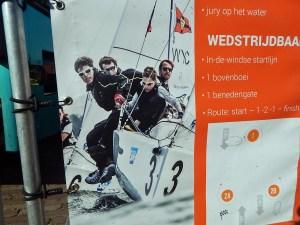 Plakat Segelwettstreit Veere Erendivisie NL