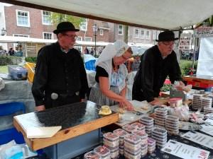 Bonbonverkäufer auf Historischem Markt Veere