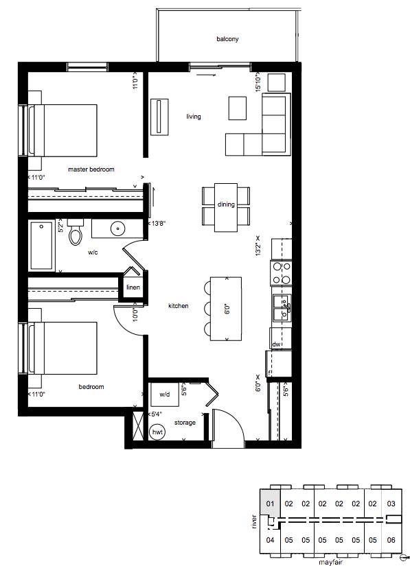 2D nolita plan