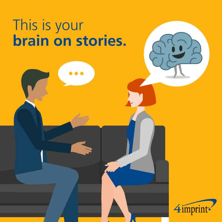 This is your brain on stories: Brain research shows stories activate more regions of our brains than facts.