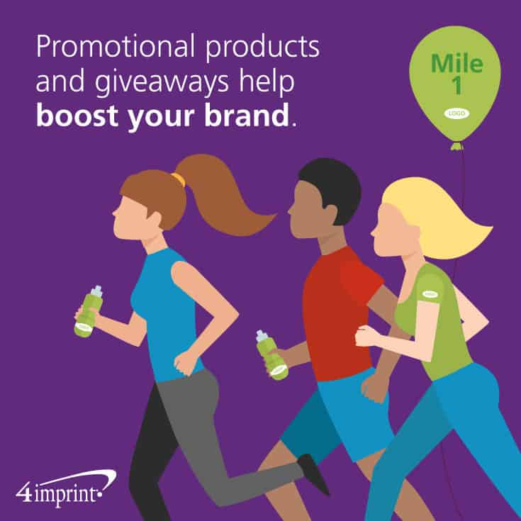 Promotional products and giveaways help boost your brand.