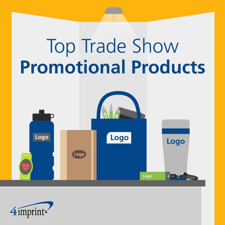 Top trade show promotional products.
