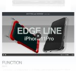 edge line for iphone11pro