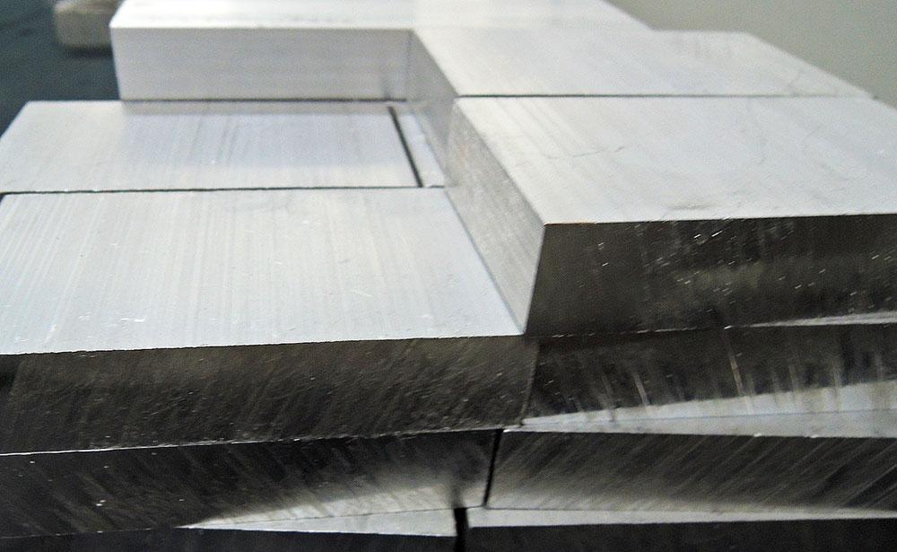角材ブロックのアルミ