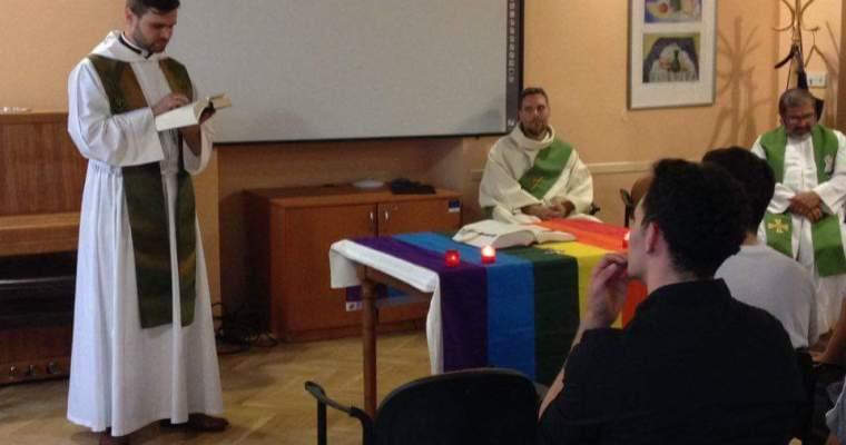 LGBTQ+ bohoslužba vPraze