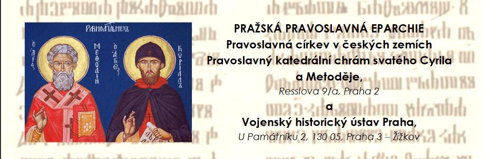 Výročí uznání staroslověnštiny připomněla konference. Pořádala ji pravoslavná církev sVojenským historickým ústavem