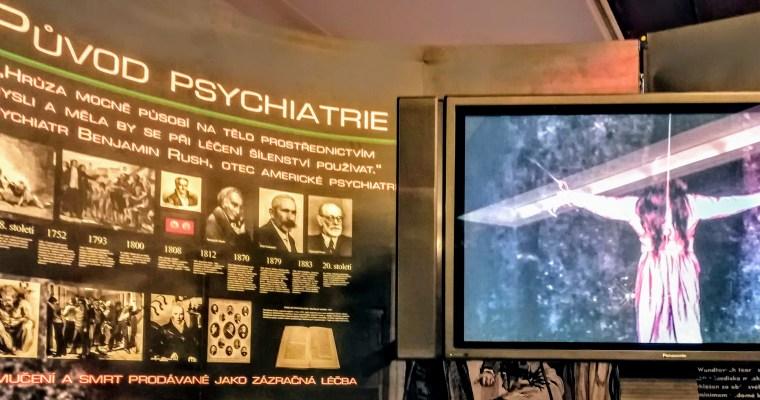 Scientologická výstava bojuje proti psychiatrii