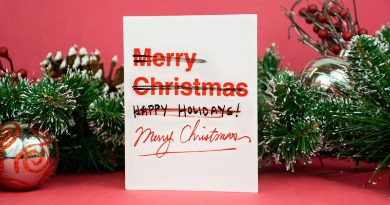 Vánoce jako součást kulturní války