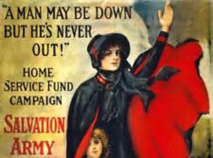 Před 100 lety začala vČeskoslovensku působit Armáda spásy