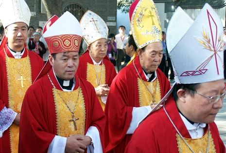K vysväteniu nových čínskych biskupov