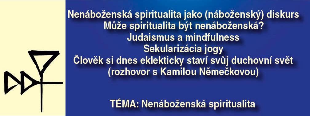 Nový Dingir onenáboženské spiritualitě