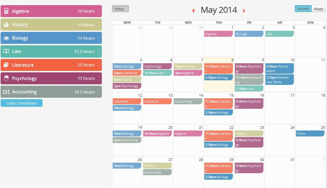 Leaving Cert Timetable Keep You On-Track