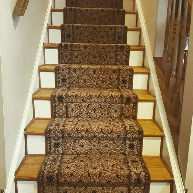 What Is The Best Carpet For Stairs | Carpeting For Stairs Residential | Spiral Stair | Communal Stairway | Commercial | Houzz | Waterfall Stair