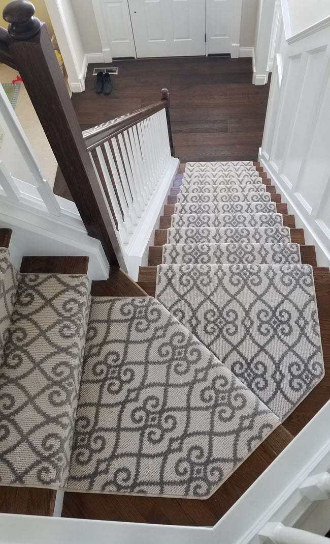 What Is The Best Carpet For Stairs   Rugs For Stairs Cheap   Carpet   Elegant   Light Grey   Persian   White
