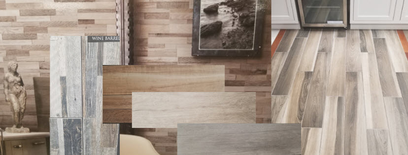 designing with wood plank tile