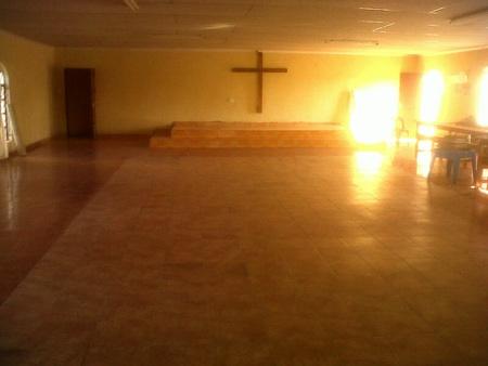 Sonntags findet in der Kita Gottesdienst statt