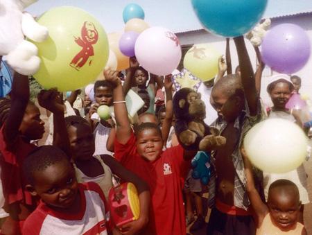 A day of joy upbuilds the kids as much as regular feeding