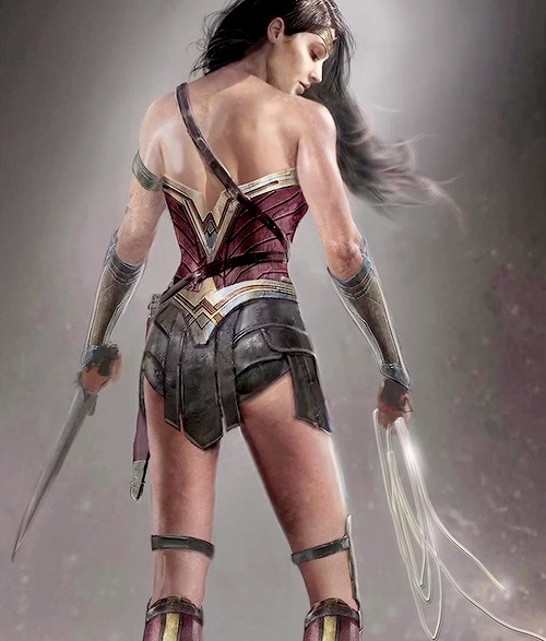New concept art for Wonder Woman in Batman V Superman