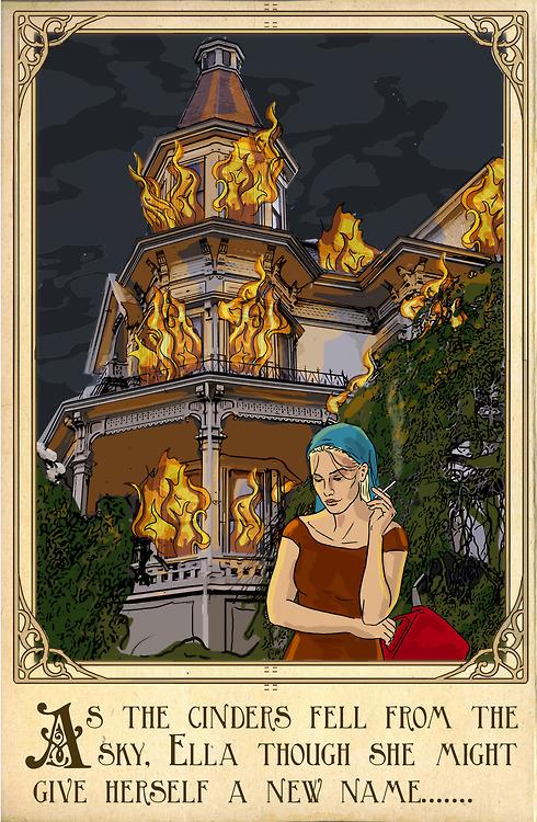 沒有神仙教母的魔法,灰姑娘發飆了:燒一燒清潔溜溜~