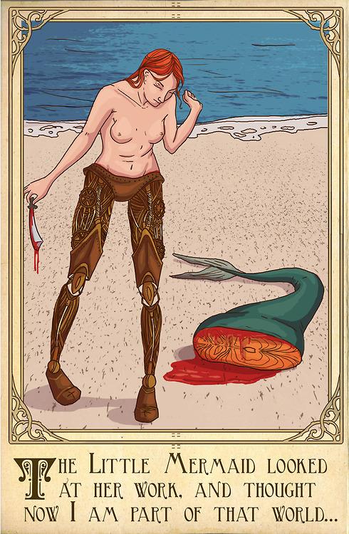 人魚公主有志氣的不靠海巫女邪惡魔法,王子你接受嗎?