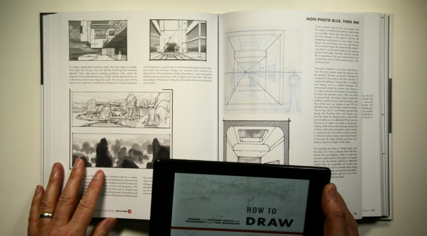 How to Draw drawing and sketching objects and environments from your imagination02