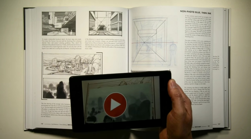 How to Draw drawing and sketching objects and environments from your imagination03