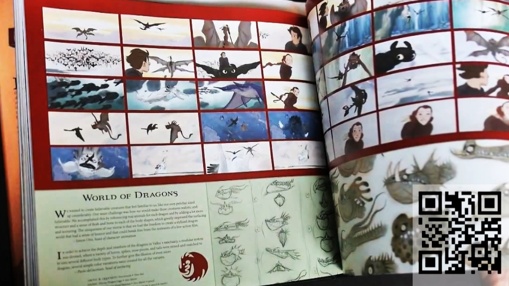the art of how to train your dragon2- books13