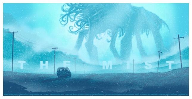 從《迷霧驚魂The Mist》看各電影怪物比例圖 - 七早八早攻山曉七早八早攻山曉