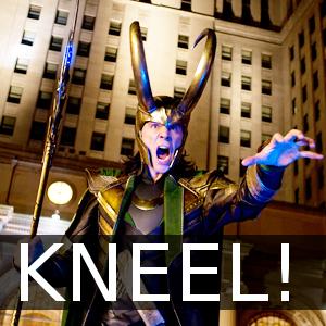 Loki kneel