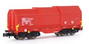 Teleskophaubenwagen DB Cargo