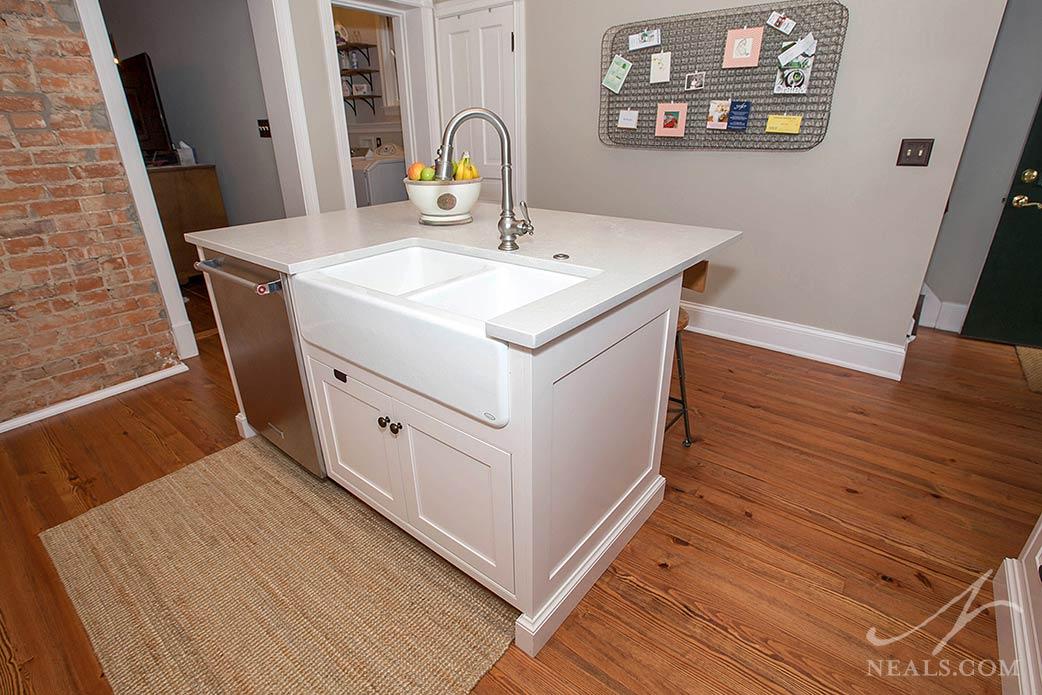design a kitchen island or peninsula