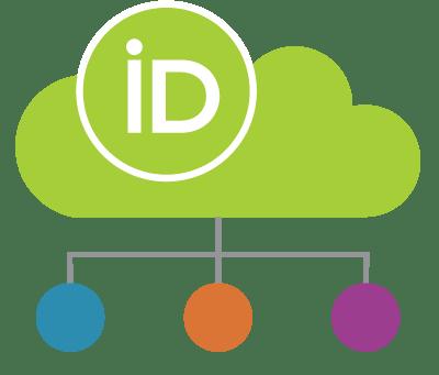 のクラウドデータベースのグラフィック ORCID 記録