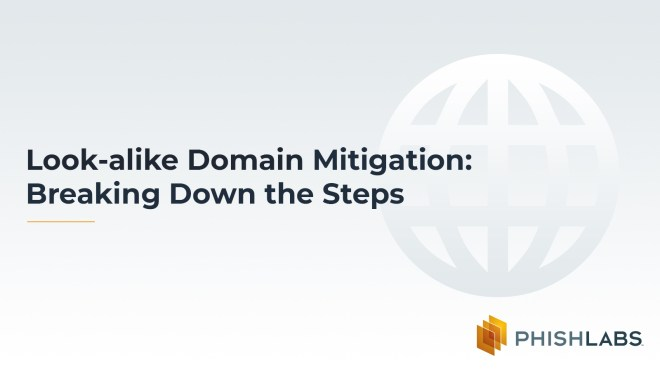 Look-alike Domain Mitigation- Breaking Down the Steps