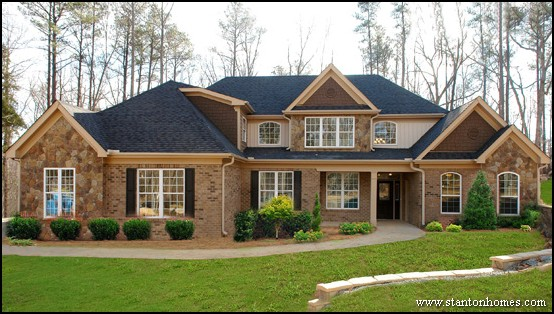 Brick Home Style Ideas In Raleigh, NC