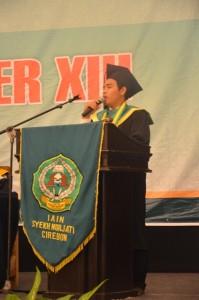 Pesan Kesan perwakilan Wisudawan/ti yang di Wisuda Sarjana dan Magister ke-XIII Tahun 2016.