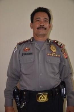 AIPTU M. SUKRIM (Kanit Tibmas Sat Bimas POLRES Cirebon Kota) juga sebagai Koordinator Satuan Pengamanan SATPAM di Lingkungan IAIN Syekh Nurjati Cirebon.