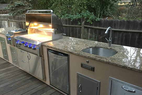 caring for outdoor kitchen sinks best